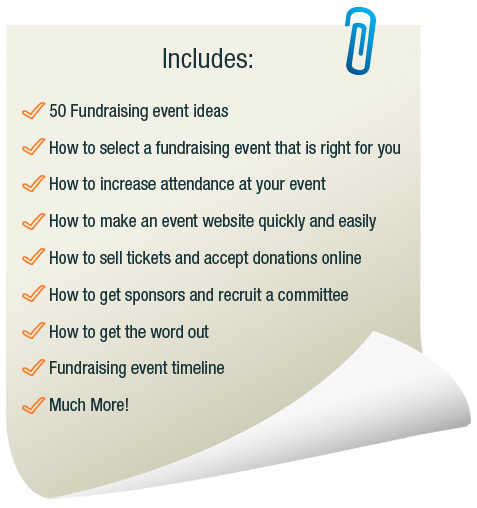 Fundraising Ebook Features